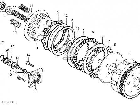 Honda CB125TT 1990 (L) USA parts lists and schematics