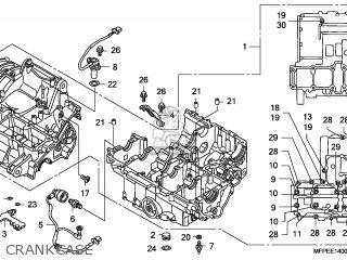 Honda Cb1300a 2010 (a) Brazil parts list partsmanual