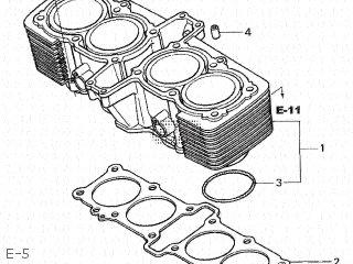 Honda CB1300DC X4 2000 (Y) JAPAN SC38-121 parts lists and