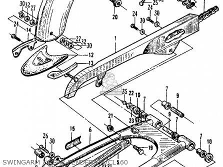 Honda Cb160 Sport 1964 Usa parts list partsmanual partsfiche
