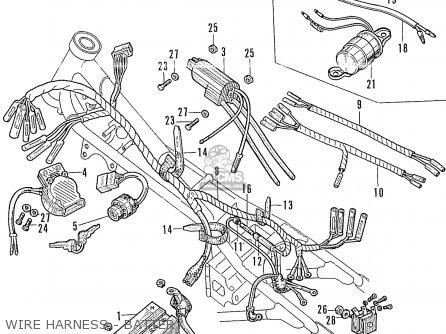Honda Cb160 Sport (general Export Model) parts list