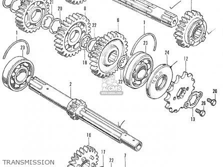 Honda Cb175 Super Sport 175 K4 (australia) parts list