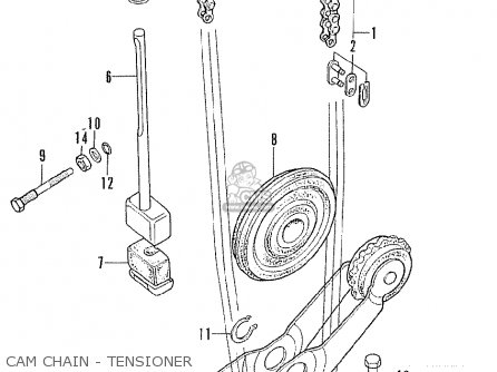 Honda Cb175 Super Sport 175 K6 1972 Usa parts list