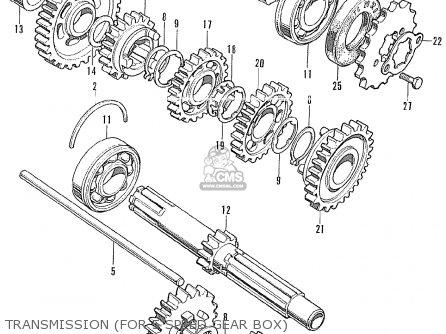 Honda Cb175k3 Super Sport General Export parts list