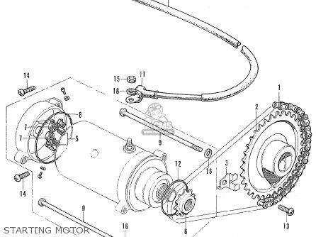 Honda CB175K4 SUPER SPORT ENGLAND parts lists and schematics