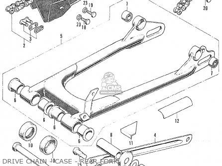 Honda Cb175k4 Super Sport Sweden parts list partsmanual