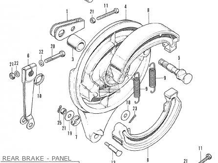 Honda CB175K5 SUPER SPORT 1971 USA parts lists and schematics