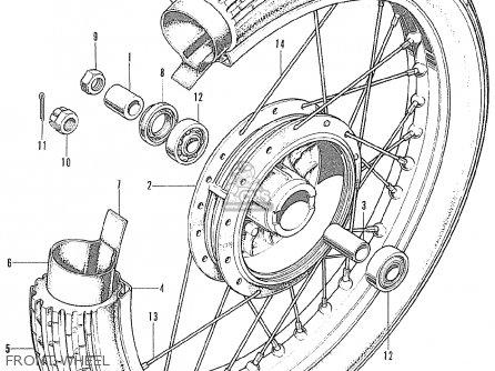Honda Cb175k6 Super Sport European Direct Sales parts list