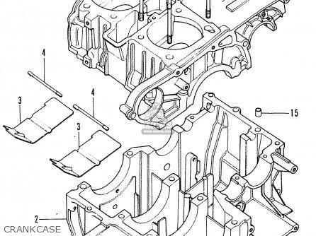 Honda Cb200 (england) parts list partsmanual partsfiche