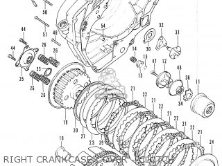 Honda Cb200 General Export parts list partsmanual partsfiche