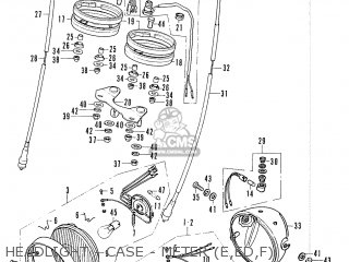 Honda CB200B EUROPEAN DIRECT SALES parts lists and schematics
