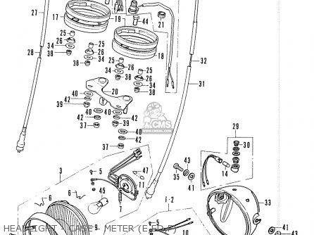 Honda Cb200b (european Direct Sales) parts list