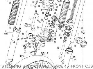 Honda Cb200b France parts list partsmanual partsfiche
