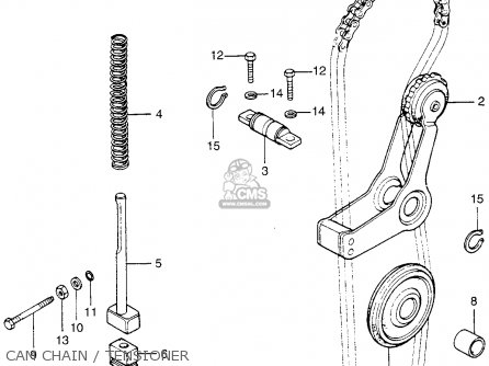 Honda CB200T 1975 USA parts lists and schematics