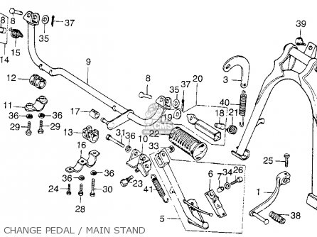 Honda CB200T 1975 USA parts lists and schematics