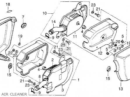 Honda CB200T 1976 USA parts lists and schematics