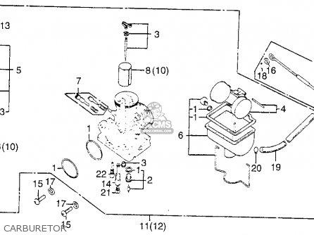 Honda Cb200t 1976 Usa parts list partsmanual partsfiche
