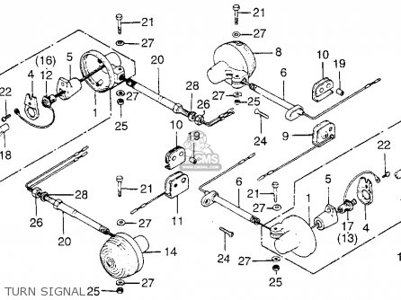 Universal Turn Signal Switch Diagram Mountain Bike Parts