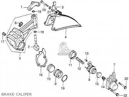 Honda Cb200t (u.s.a) 1976 parts list partsmanual partsfiche