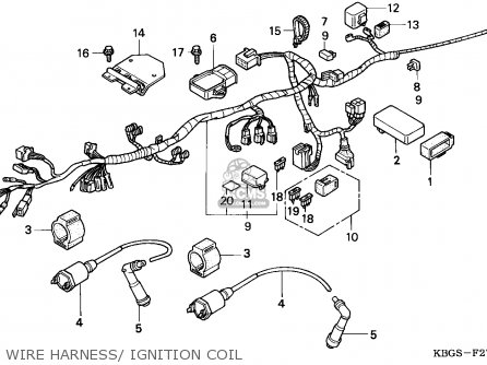 Honda CB250 1994 (R) BELGIUM parts lists and schematics