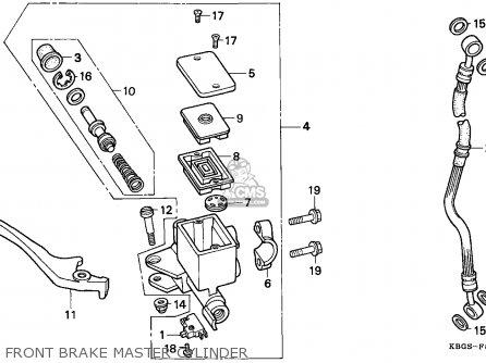 Honda CB250 1994 (R) NETHERLANDS parts lists and schematics