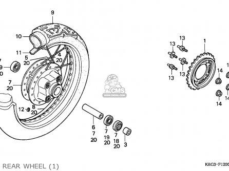 Honda CB250 NIGHTHAWK 1991 (M) CANADA / KPH parts lists