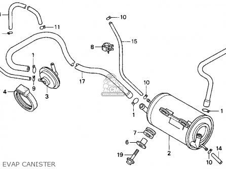 Honda CB250 NIGHTHAWK 1991 (M) USA parts lists and schematics
