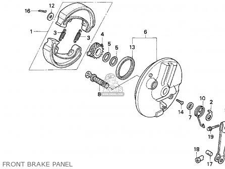 Honda Cb250 Nighthawk 1991 (m) Usa parts list partsmanual