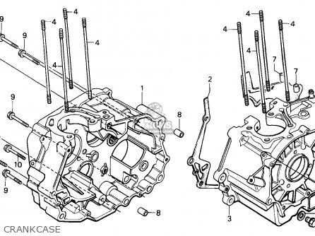 Honda Cb250 Nighthawk 1992 Canada / Kph parts list