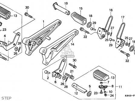 Honda CB250 NIGHTHAWK 1992 (N) CANADA / KPH parts lists