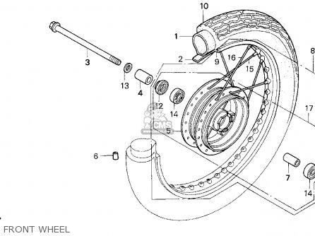 Honda Cb250 Nighthawk 1992 (n) Usa parts list partsmanual