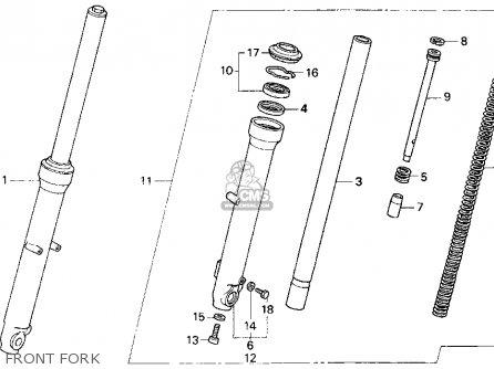 Honda Cb250 Nighthawk 1993 (p) Usa parts list partsmanual