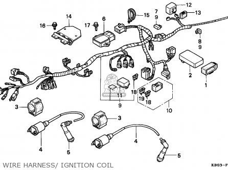 Honda Cb250 Nighthawk 1993 Singapore / Kph parts list