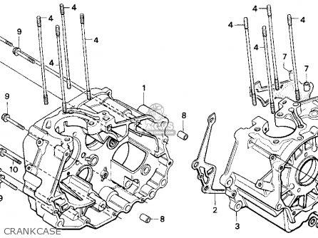 Honda Cb250 Nighthawk 1993 Usa parts list partsmanual