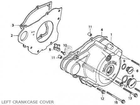Honda Cb250 Nighthawk 1994 (r) Usa parts list partsmanual