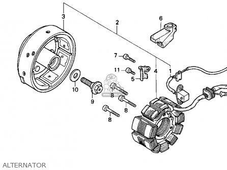 Honda Cb250 Nighthawk 1996 (t) Usa parts list partsmanual