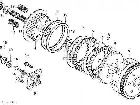 Honda CB250 NIGHTHAWK 1996 (T) USA parts lists and schematics