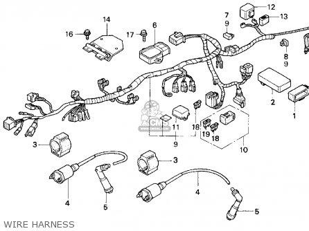 Honda CB250 NIGHTHAWK 1997 (V) USA parts lists and schematics