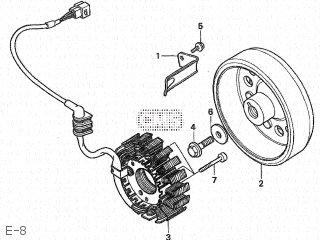 Honda CB250F HORNET 1996 (T) JAPAN MC31-100-105 parts