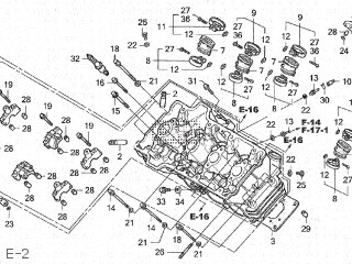 Honda CB250F HORNET 2000 (Y) JAPAN MC31-120 parts lists