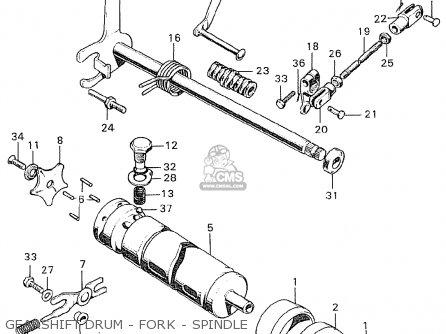 Honda CB250K0 BELGIUM parts lists and schematics