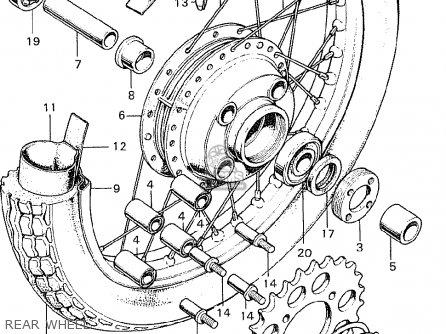 Honda CB250K0 ENGLAND parts lists and schematics