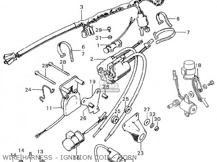 Honda Cb250k0 England parts list partsmanual partsfiche