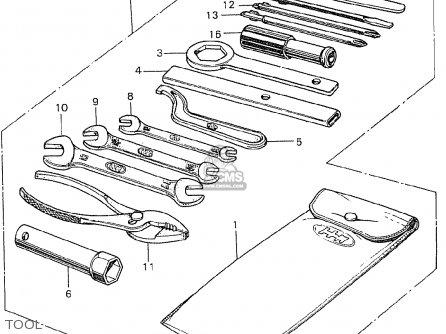Honda Cb250k0 Germany parts list partsmanual partsfiche