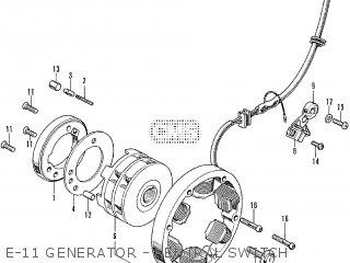 Honda CB250K3 parts lists and schematics