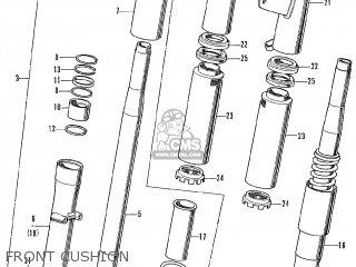 Honda Cb250k3 (general Export Model) parts list