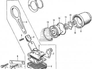 Honda Cb250k3 General Export parts list partsmanual partsfiche