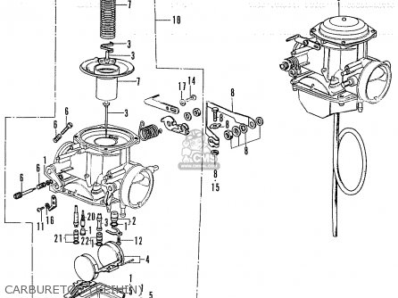 Honda CB250K4 ENGLAND parts lists and schematics