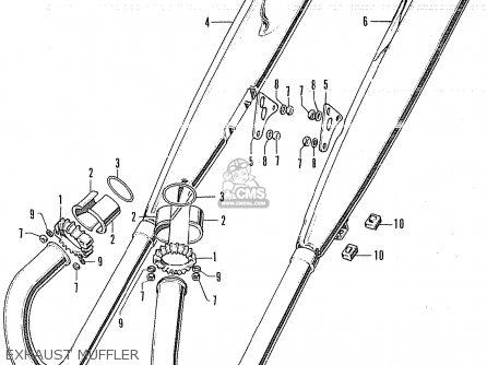 Honda CB250K4 GERMANY parts lists and schematics