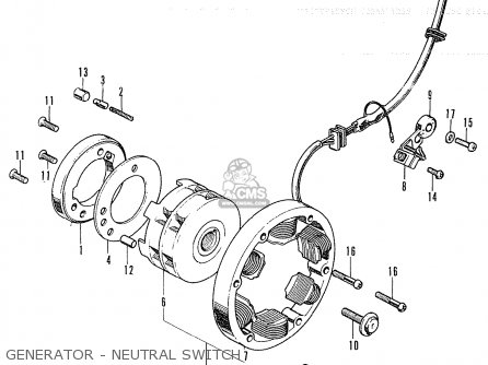Honda CB250K4 GERMANY parts lists and schematics